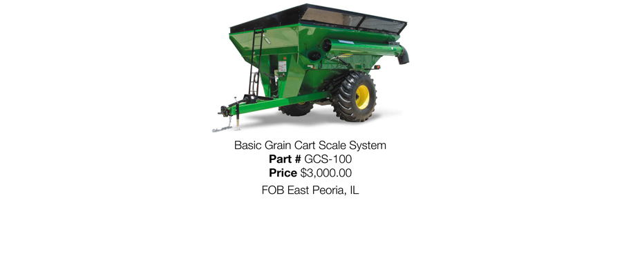 Basic Grain Cart Scale System
