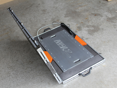 portable in motion axle scale case