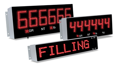 in-motion truck scale driver readout