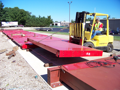 Walz weighbridge truck scales